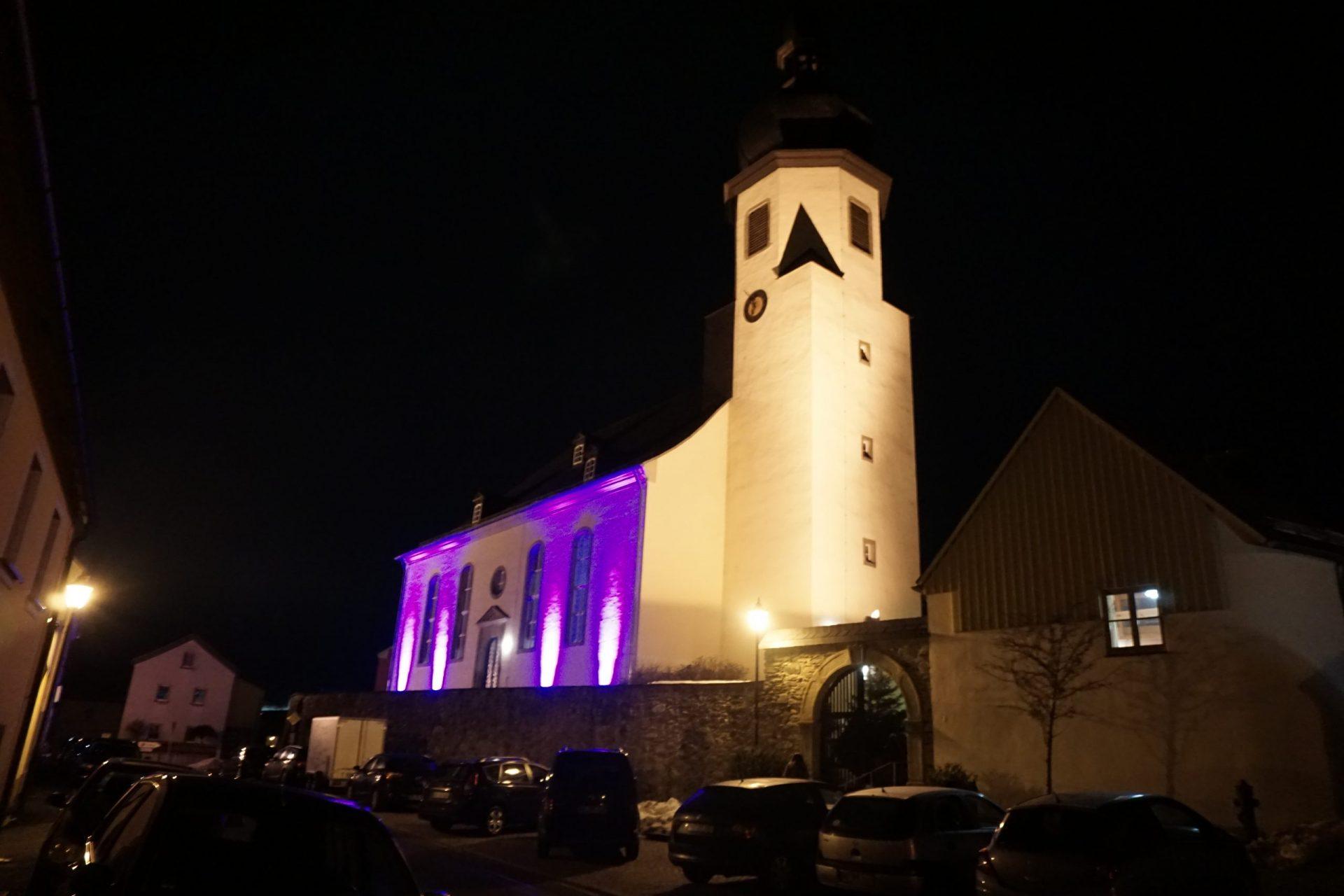 Kirche Trogen zum Splash-Gottesdienst 2017