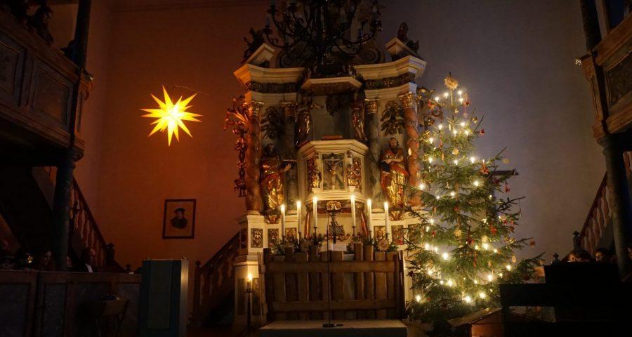 Weihnachtsstimmung in der Kirchen Trogen